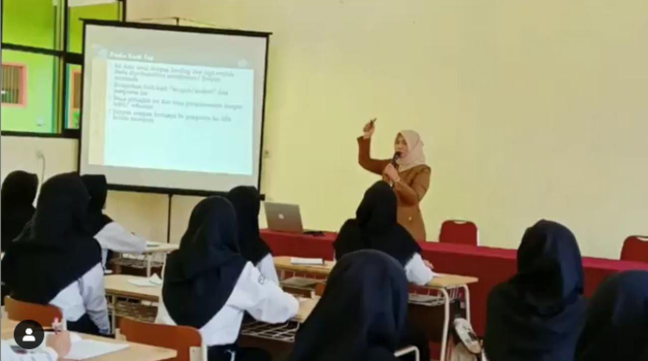 Rekruitmen BKK SMK Negeri 1 Turen bekerja sama dengan Optik Internasional di Tahun 2019
