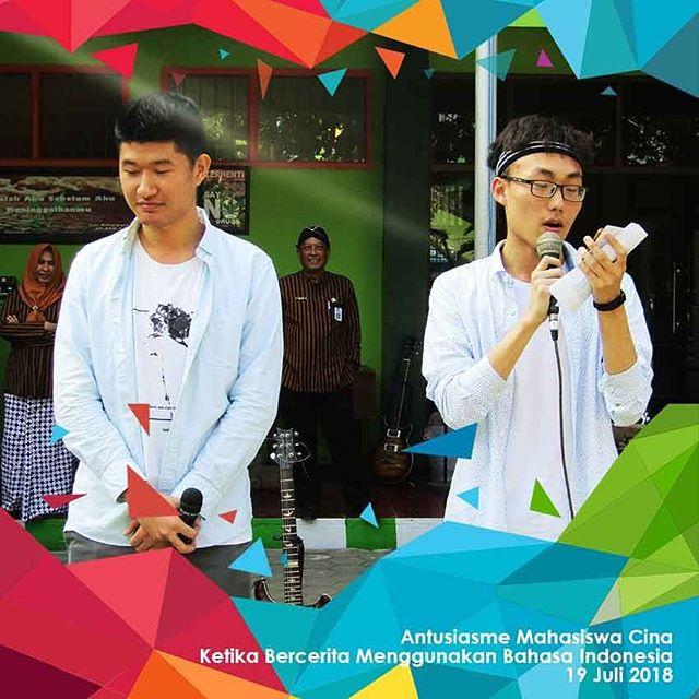 Volunteer Mahasiswa Cina