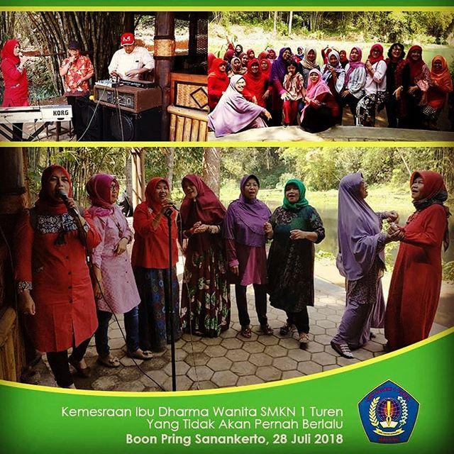 Keceriaan Darma Wanita Persatuan SMKN 1 Turen