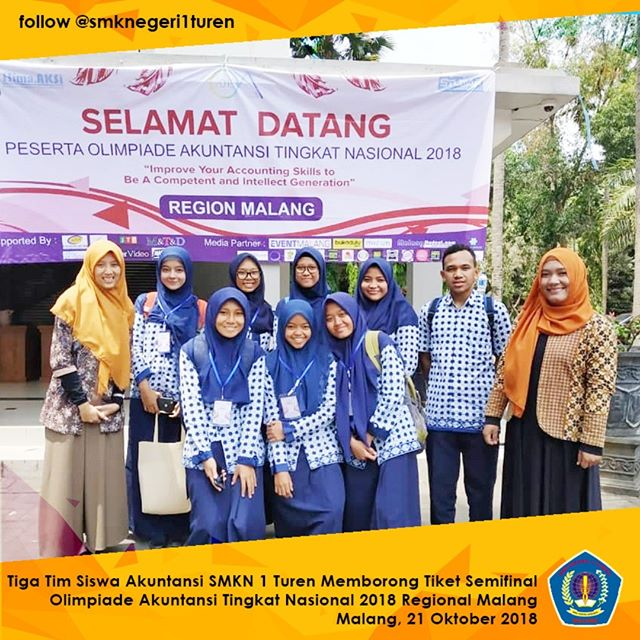 Tiga Tim SMKN 1 Turen Berebut Jadi Wakil Regional Malang