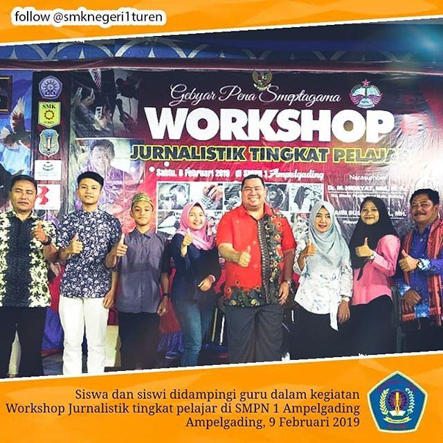 Partisipasi SMKN 1 Turen Dalam Workshop Jurnalistik 2019