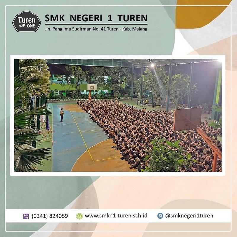 SMK Negeri 1 Turen Mengadakan Kegiatan Perkemahan Jumat Sabtu (Perjusa), Salam Pramuka !