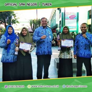 Upacara HARDIKNAS SMK Negeri 1 Turen Dengan Sejuta Prestasi