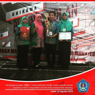 Juara 2 dalam Festival Bussines Plan Competition