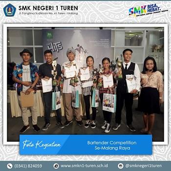 Karya Siswa Tata Boga Dalam Bartender Competition se-Malang Raya