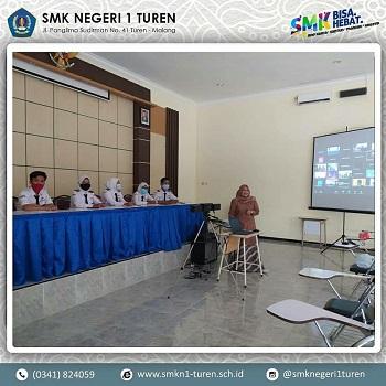 SMKN 1 Turen Mengikuti Cerdas Sehat Online (CSO) untuk peserta didik SMA/ SMK