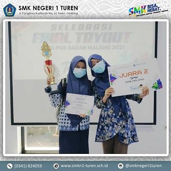 Pemenang Final Tryout Kompetensi Masuk Dunia Kerja 2021 oleh Jawa Pos Radar Malang