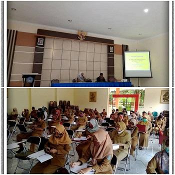 Sosialisasi Sistem Penjamin Mutu Internal (SPMI) dan Rapor Mutu Sekolah