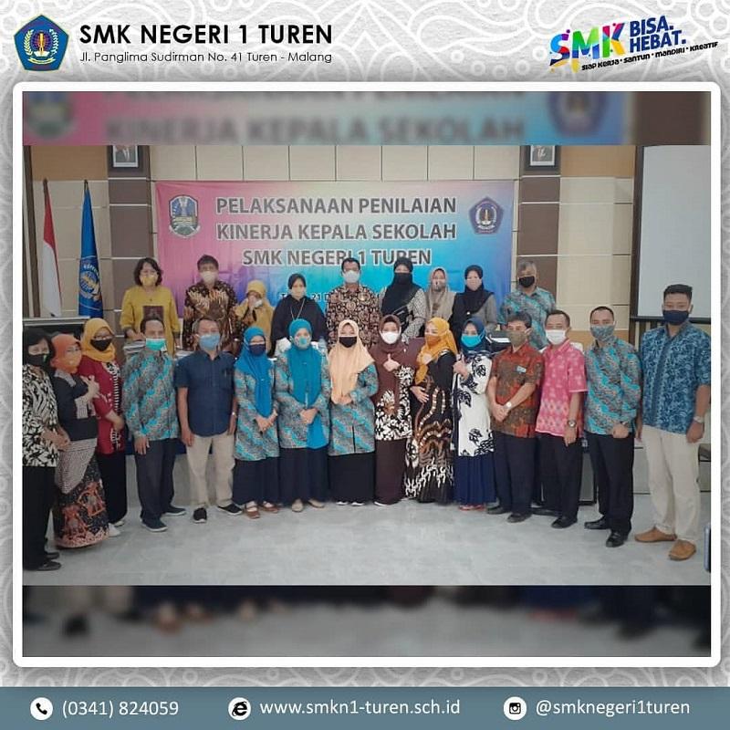 Penilaian Kinerja Kepala Sekolah SMK Negeri 1 Turen