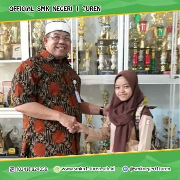 SMKN 1 Turen Merebut Peringkat 1 UNBK 2019 Tertinggi di Kabupaten Malang