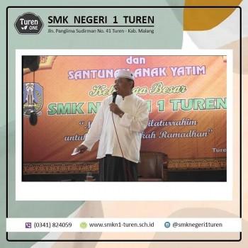 Indahnya Buka Bersama dan Santunan Anak Yatim SMK Negeri 1 Turen 2019