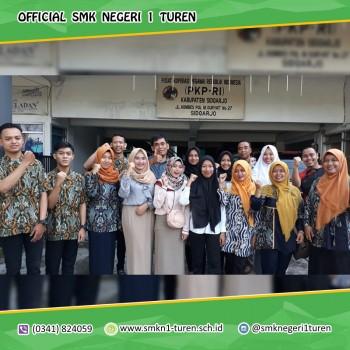 Pembinaan dan pelepasan kontingen SMK Kabupaten Malang dalam mengikuti Lomba Kompetensi Siswa (LKS) Tingkat Provinsi Jawa Timur 2019