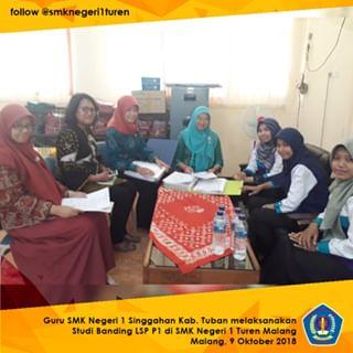 Studi Banding LSP P1 SMKN 1 Singgahan