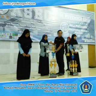 Juara 2 Olimpiade Akuntansi se-Jawa Bali