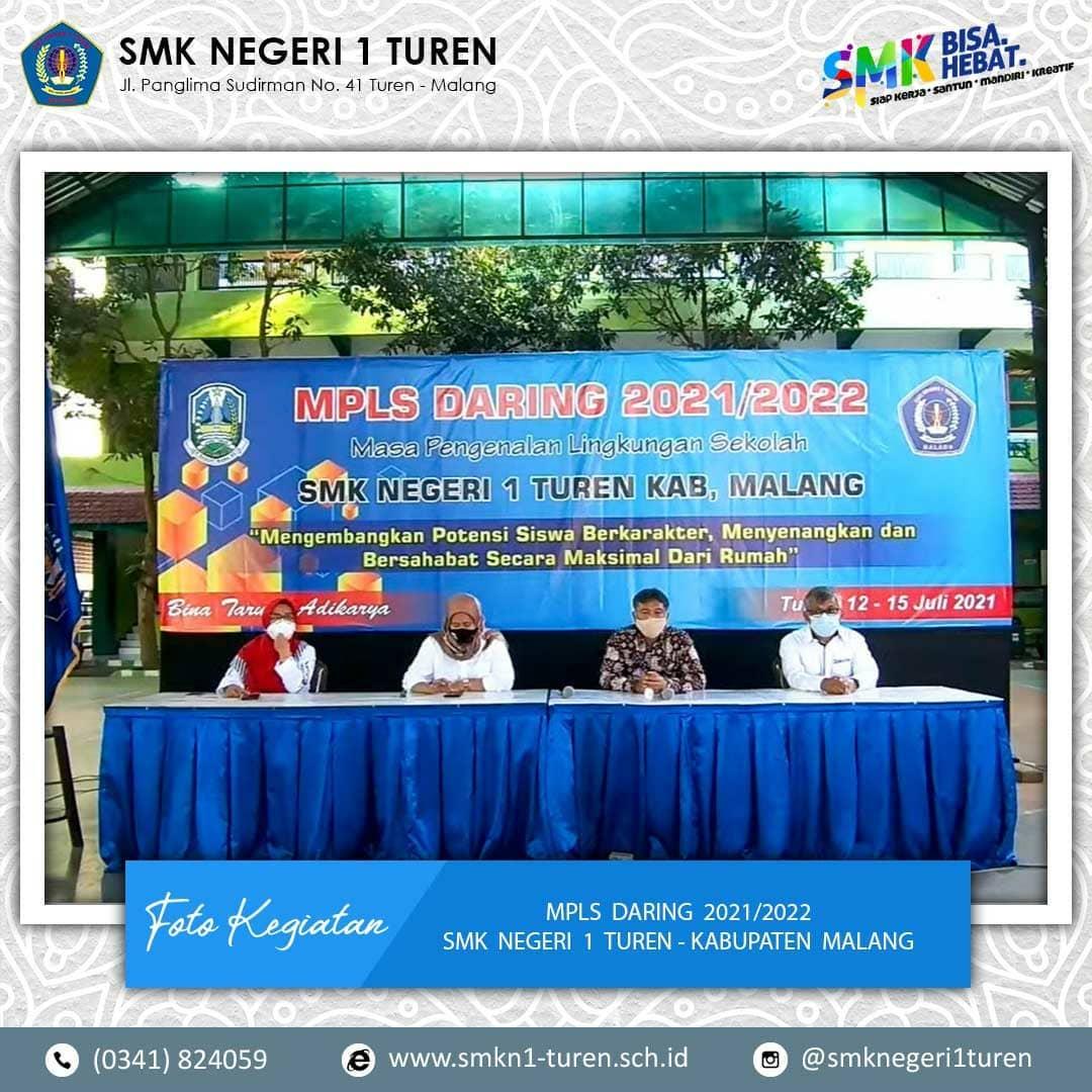 Kegiatan MPLS SMKN 1 Turen Tahun Ajaran 2021/2022