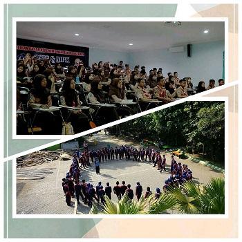Latihan Dasar Kepemimpinan dan Manajemen Pengurus OSIS dan MPK Masa Bakti 2019/ 2020