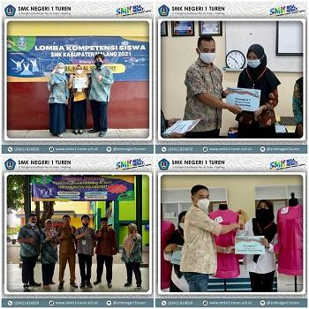 TIM LKS Turen One Memborong Kemenangan di 8 Bidang Lomba LKS Kabupaten Malang