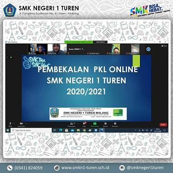 Pembekalan PKL Online Siswa Kelas XI BDP