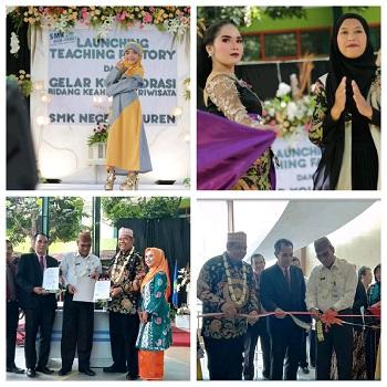 Launching Teaching Factory (TEFA) dan Gelar Kolaborasi Bidang Keahlian Pariwisata Berlangsung Meriah
