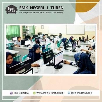 Tes TOEIC diadakan di SMK Negeri 1 Turen